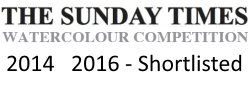 sunday times watercolour competition